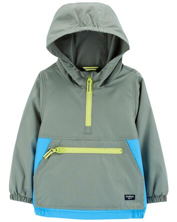 Colourblock Packable Windbreaker