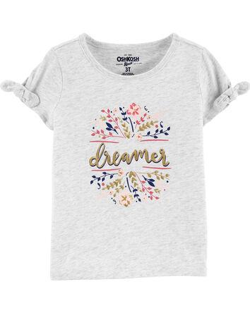 T-shirt à nœud aux manches Dreamer
