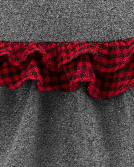 3-Piece Holiday Bodysuit & Pant Set