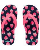 Strawberry Flip Flops, , hi-res