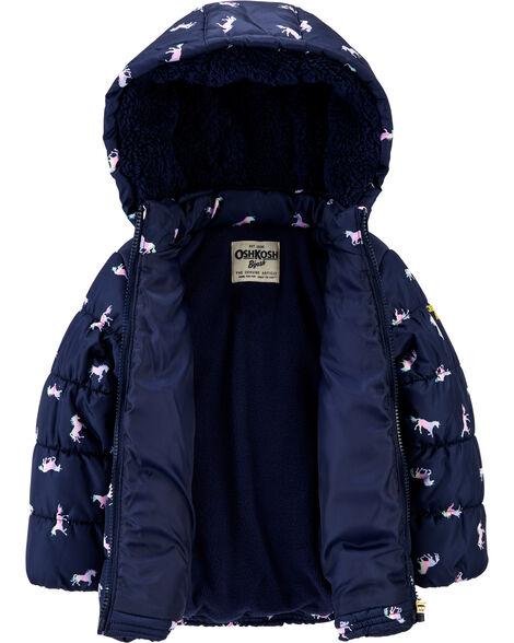 Unicorn Puffer Jacket