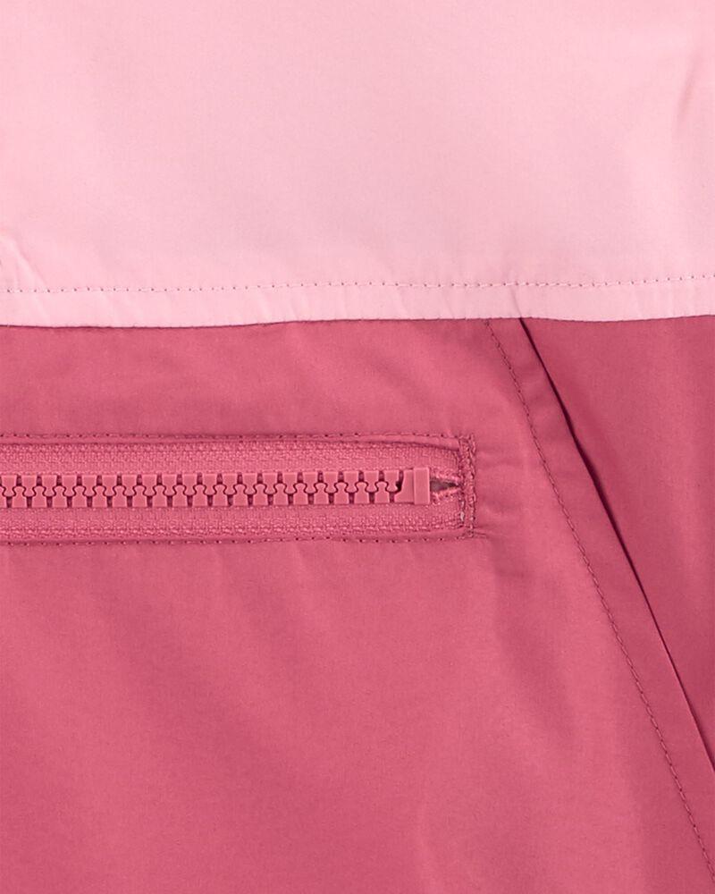 Blouson compact de couleurs contrastantes , , hi-res