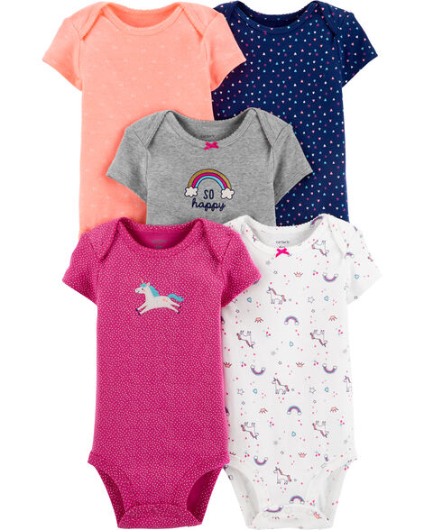 5-Pack Unicorn Original Bodysuits