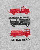 3-Piece Firetruck Little Short Set, , hi-res