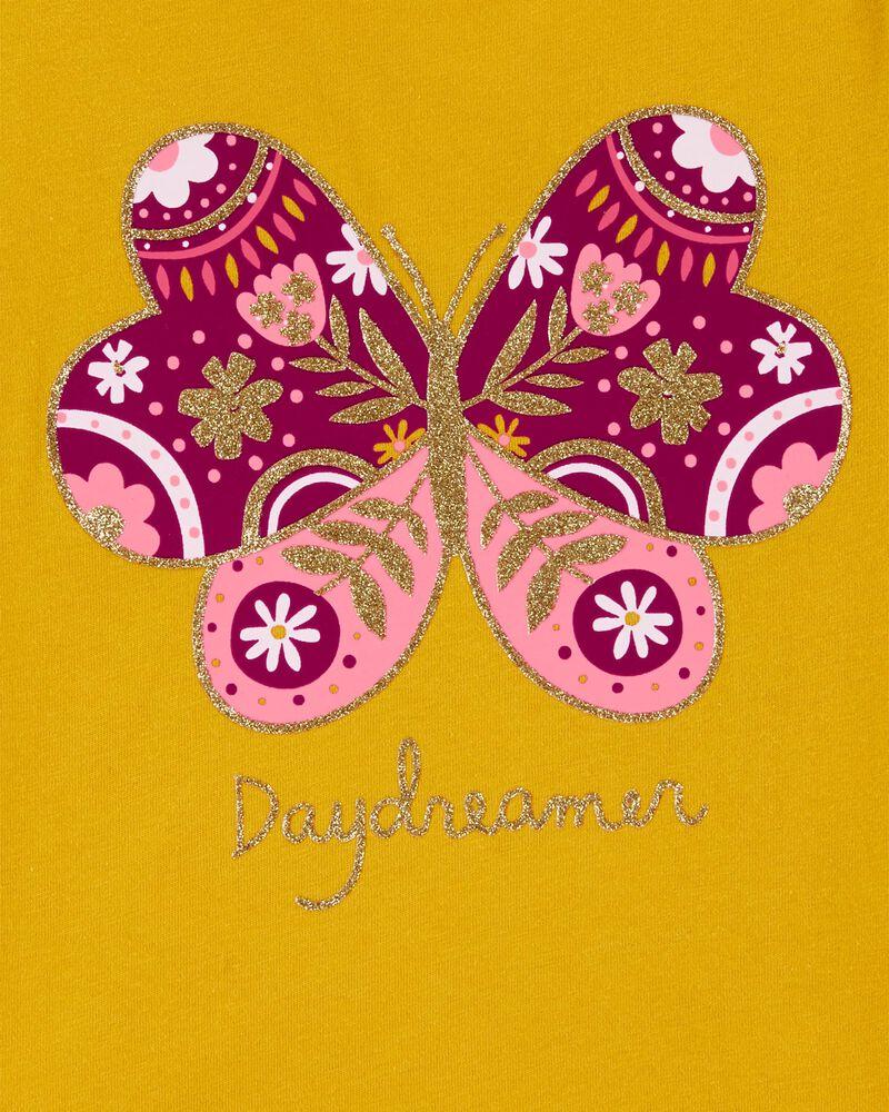 Glitter Butterfly Jersey Tee, , hi-res