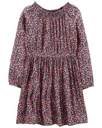 Floral Viscose Dress