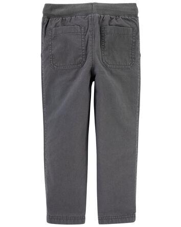 Pantalon à enfiler avec genoux renf...