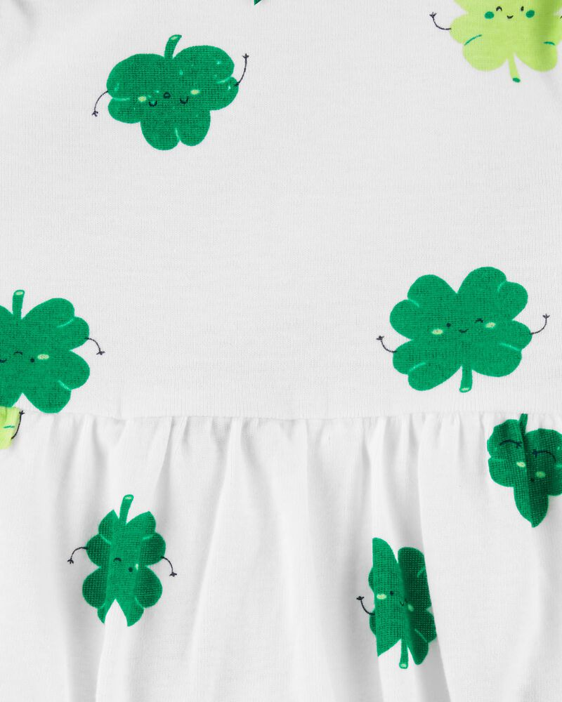 2-Piece St. Patrick's Day Bodysuit Dress & Cardigan Set, , hi-res