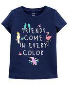 T-shirt en jersey Friends In Every Color , , hi-res