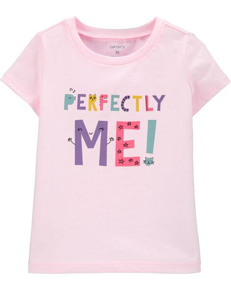 T-shirt en jersey Perfectly Me