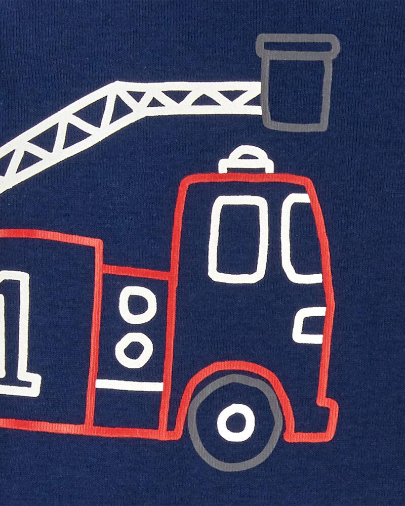 Ensemble Little Character 3 pièces camion à incendie, , hi-res