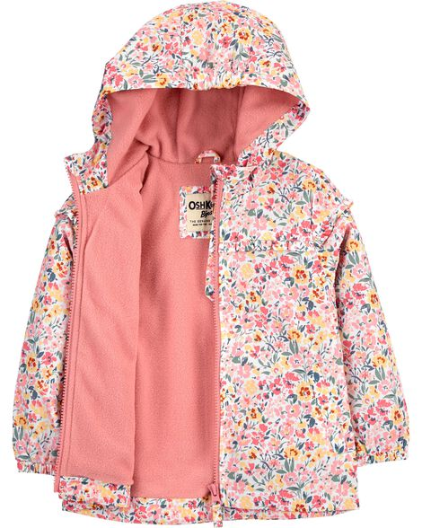 Floral Midweight Jacket