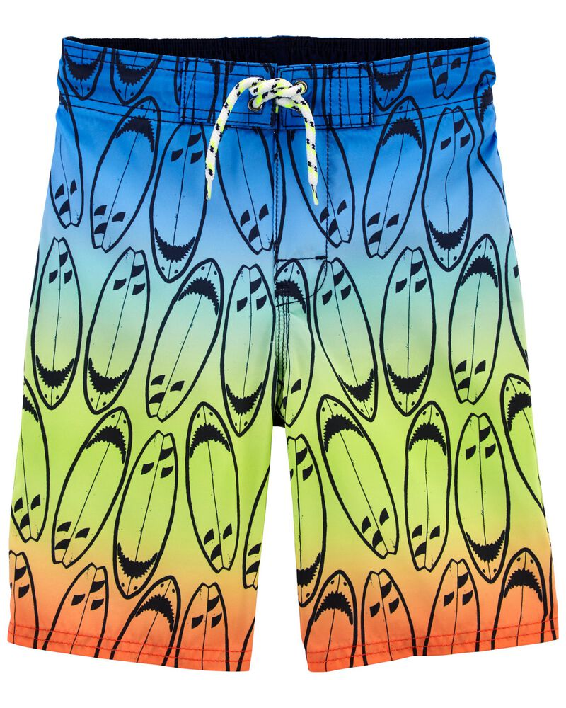 Surfboard Swim Trunks, , hi-res