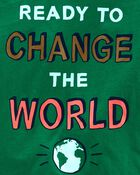 Change The World Jersey Tee, , hi-res