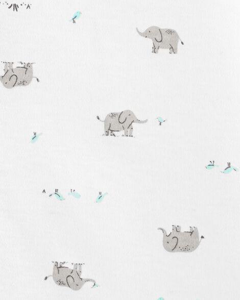 Gigoteuse en coton à éléphant