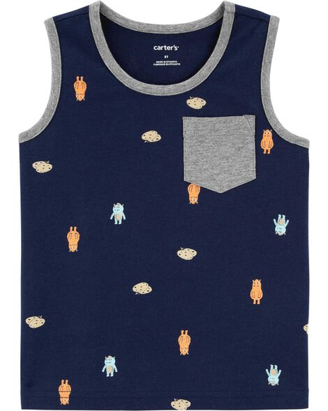Cookie Monsters Jersey Tank