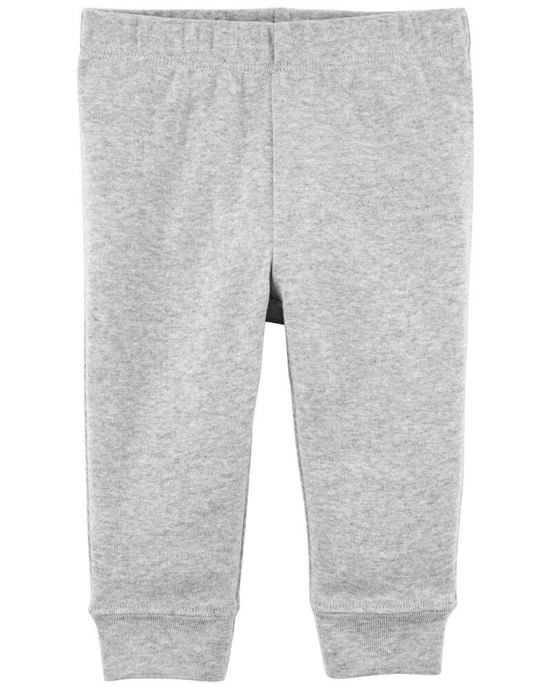 Pantalon à enfiler en coton, , hi-res