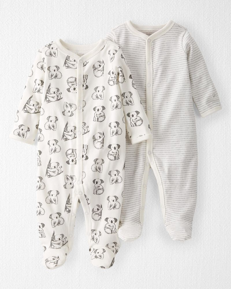2-Pack Organic Cotton Snap-Up Sleep & Play, , hi-res