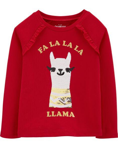 Holiday Llama Tee