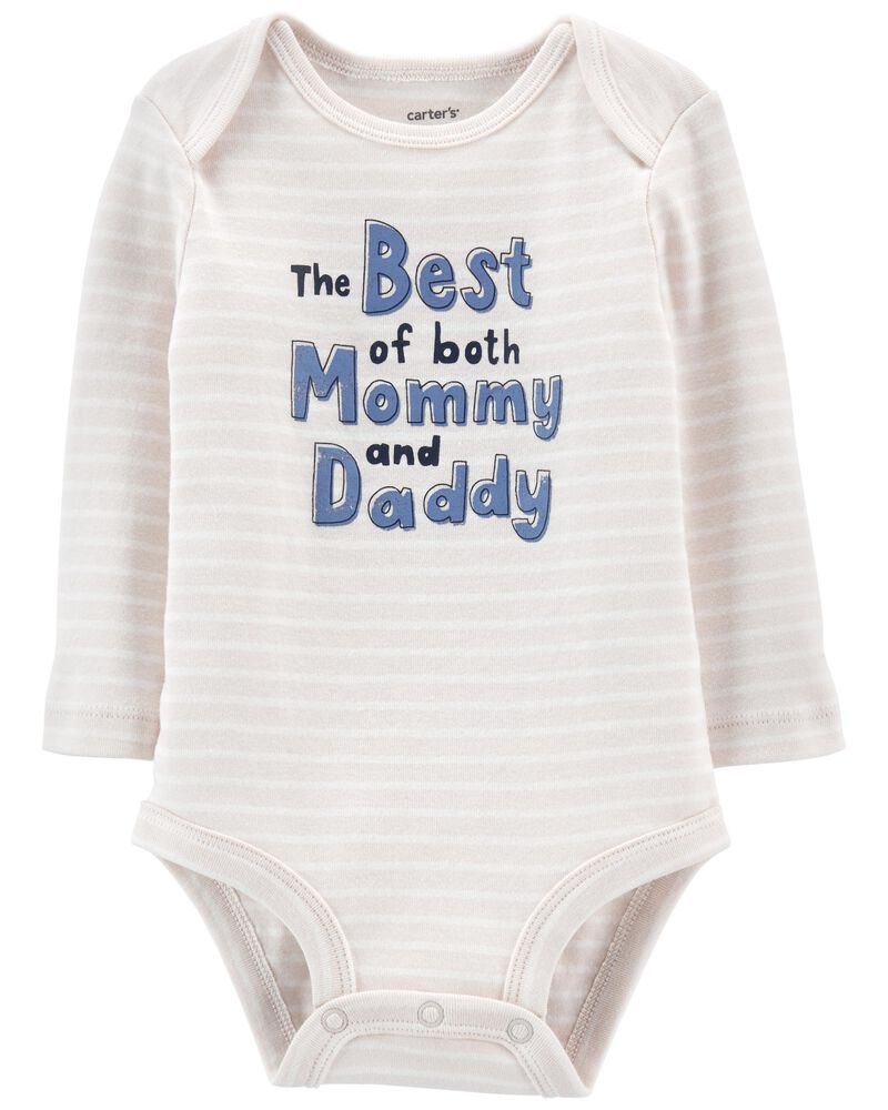 Best Of Mommy And Daddy Bodysuit, , hi-res