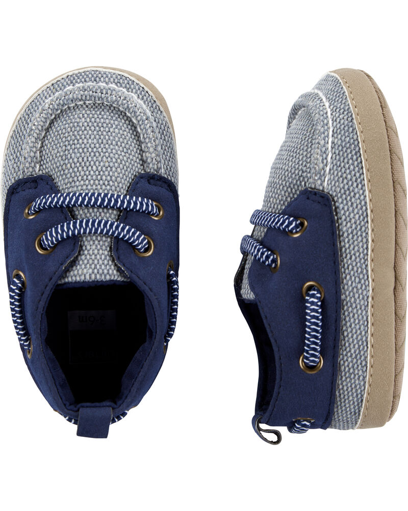 Carter's Boat Shoes Baby Shoes, , hi-res
