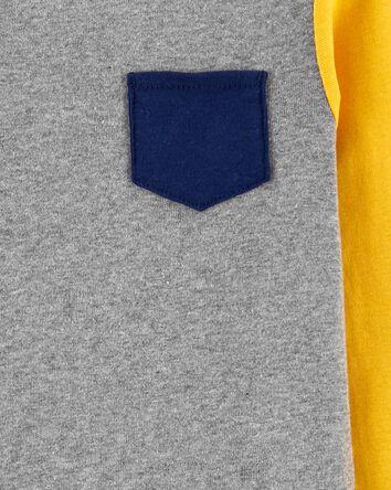 2-Piece Colourblock 100% Snug Fit C...