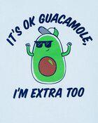 T-shirt en jersey Avocado I'm Extra Too, , hi-res