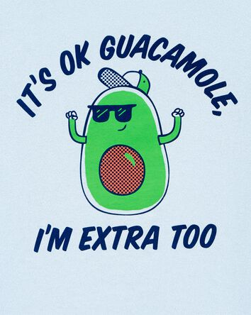 T-shirt en jersey Avocado I'm Extra...