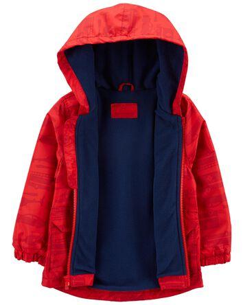 Fleece-Lined Rescue Rain Jacket