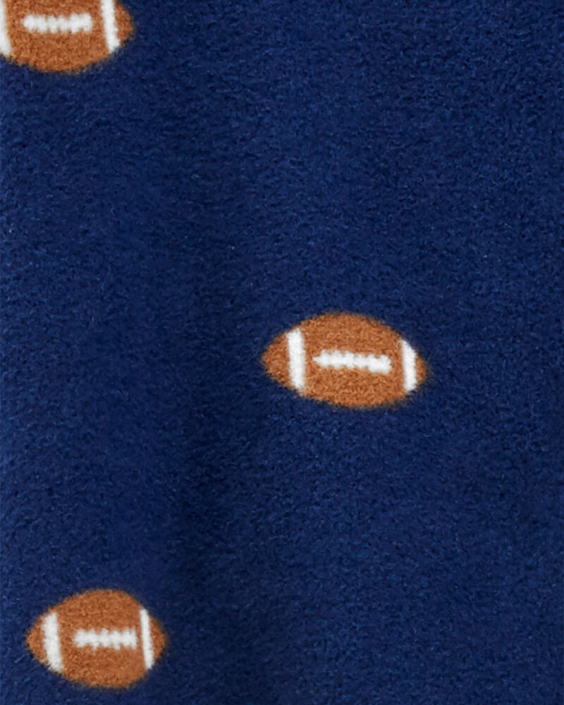 Football Zip-Up Fleece Sleep & Play, , hi-res