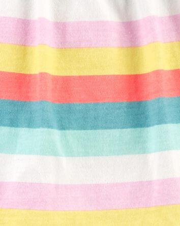 2-Piece Striped Bodysuit Pant Set