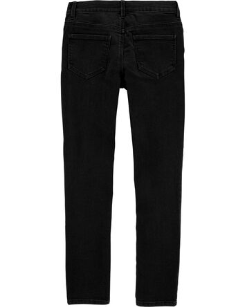 Jegging en denim noir
