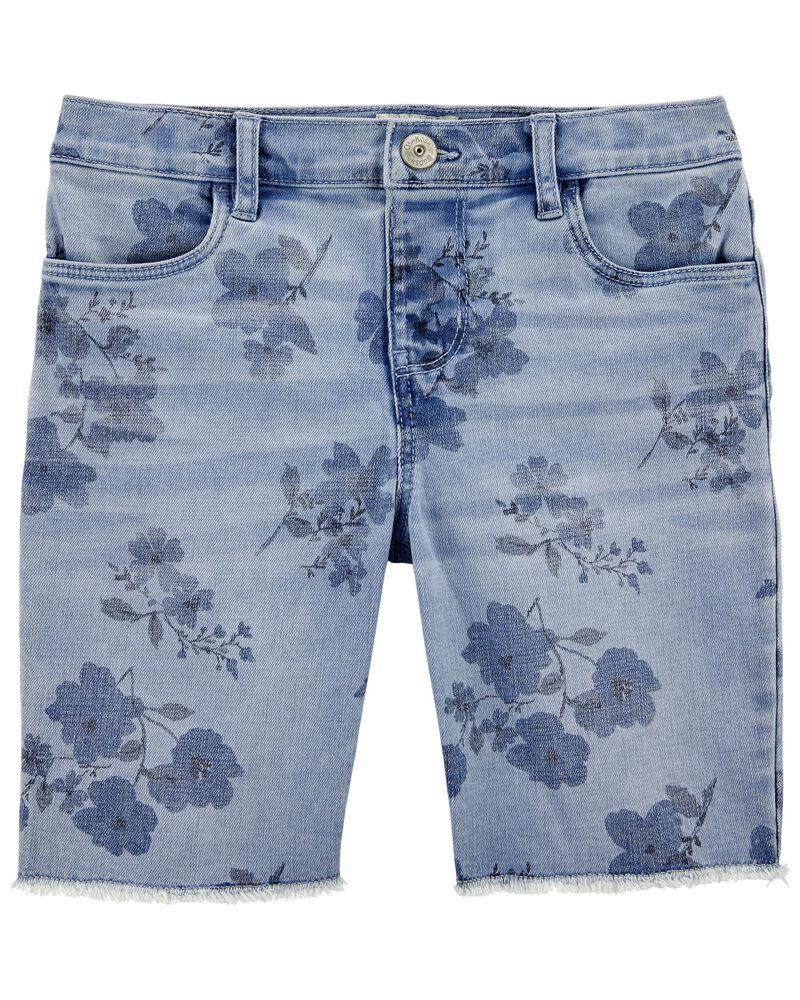 Stretch Skimmer Shorts in Yucatan Floral Wash, , hi-res