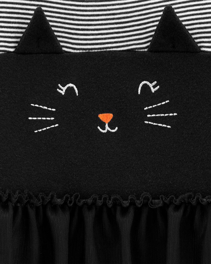 Halloween Cat Tutu Bodysuit, , hi-res
