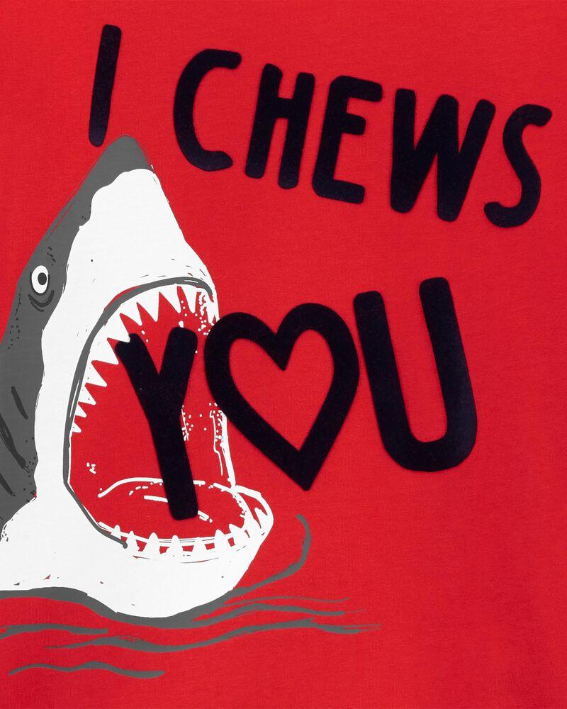 T-shirt en jersey à requin de la Saint-Valentin, , hi-res