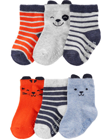 6-Pack Character Crew Socks