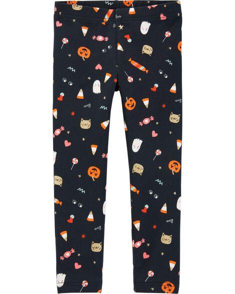 Halloween Candy Leggings