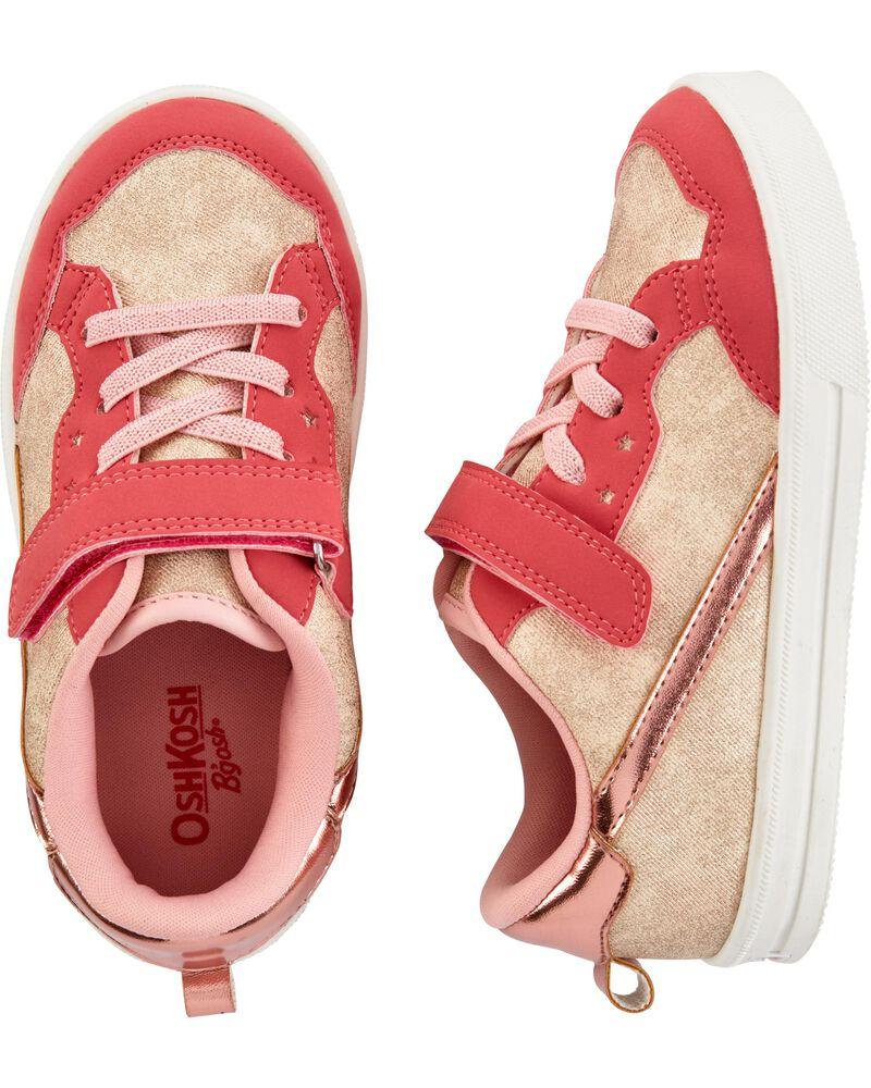 Chaussures au coloris rose doré, , hi-res