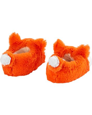 Orange Fox Slippers