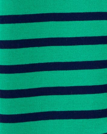 Striped 2-Way Zip Cotton Sleep & Pl...