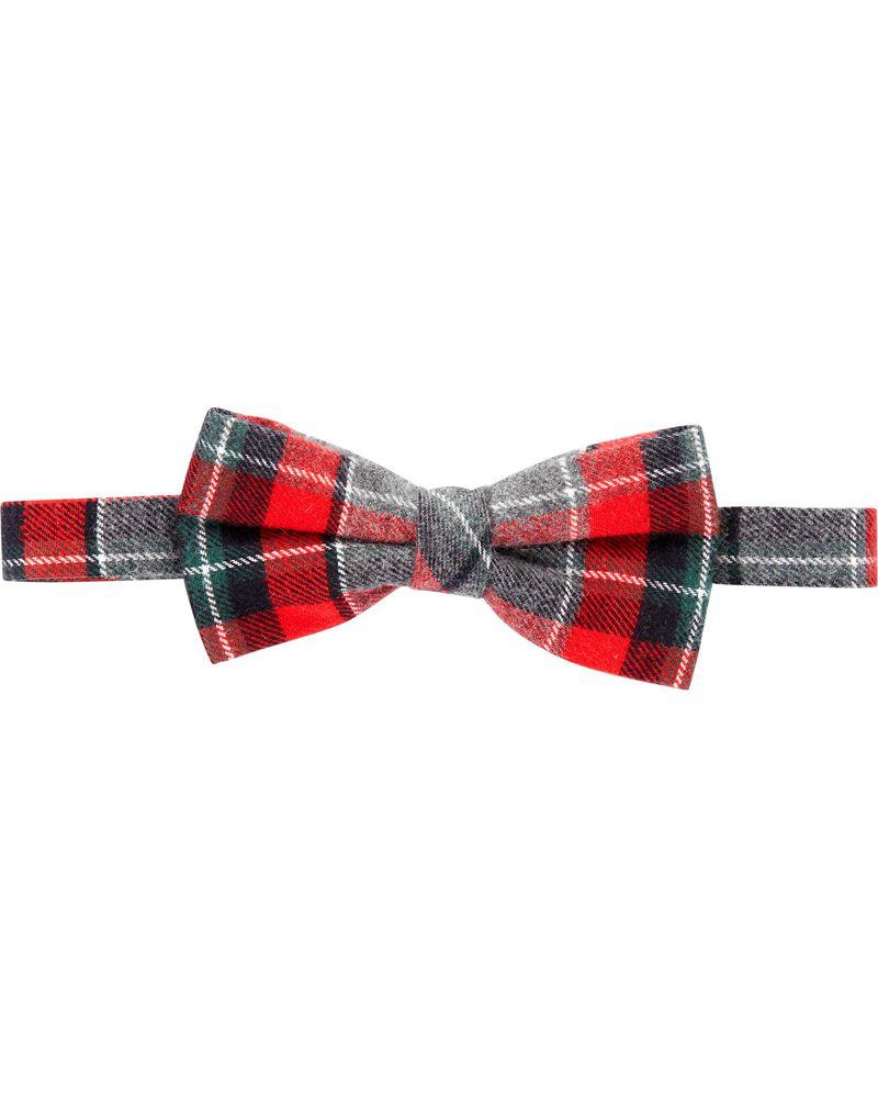 Plaid Bow Tie, , hi-res