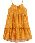 Tiered Ruffle Sun Dress, , hi-res