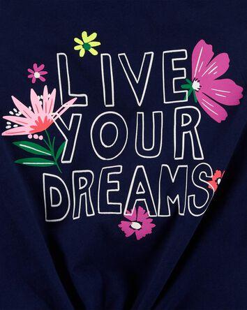 Débardeur en jersey Live Your Dream...