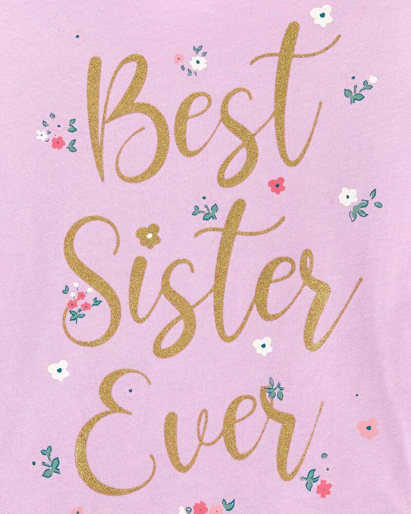 Best Sister Ever Jersey Tee, , hi-res