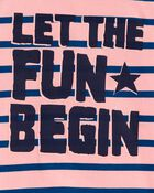 T-shirt en jersey Let The Fun Begin , , hi-res