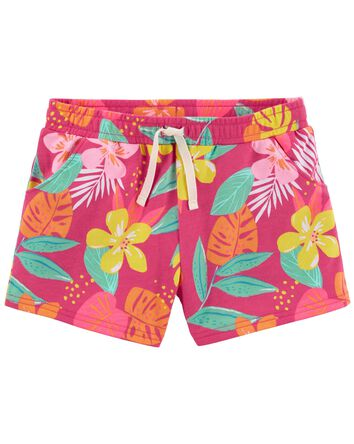 Tropical Pull-On Shorts