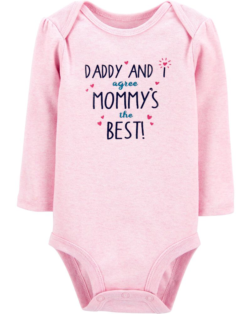 Mommy And Daddy Are The Best Bodysuit, , hi-res