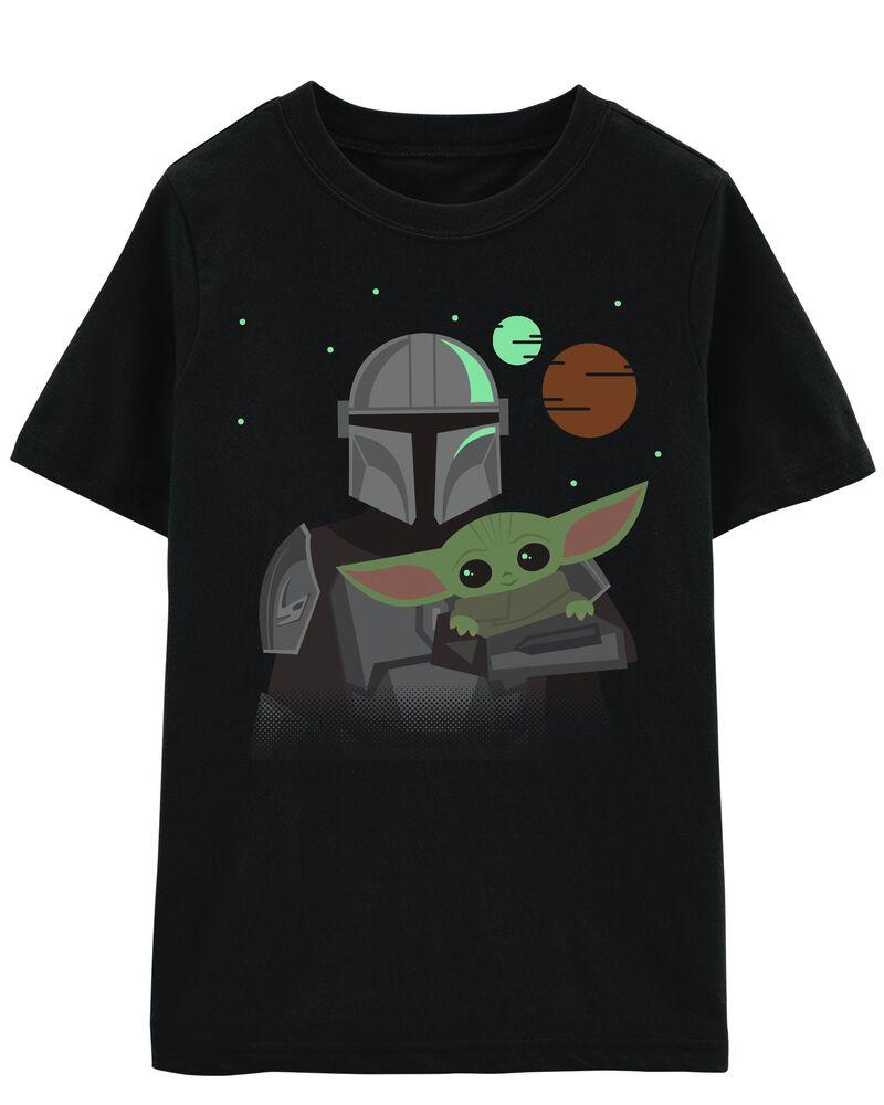 Baby Yoda Glow Tee, , hi-res