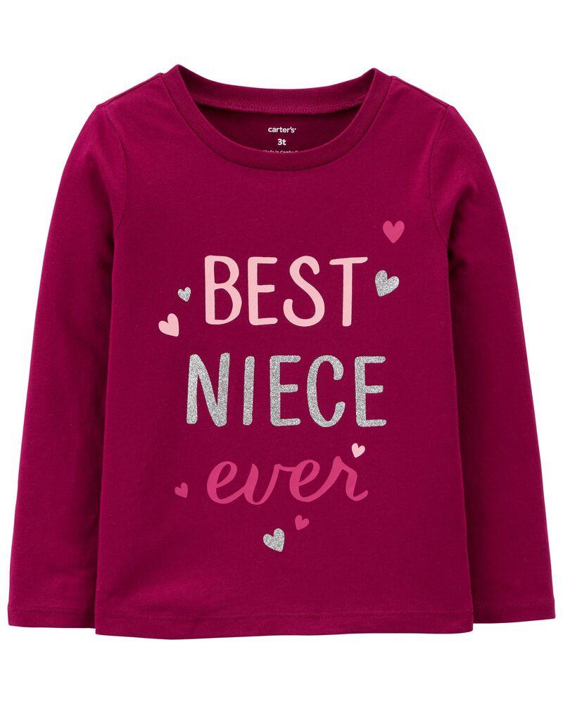 T-shirt en jersey Best Niece Ever, , hi-res