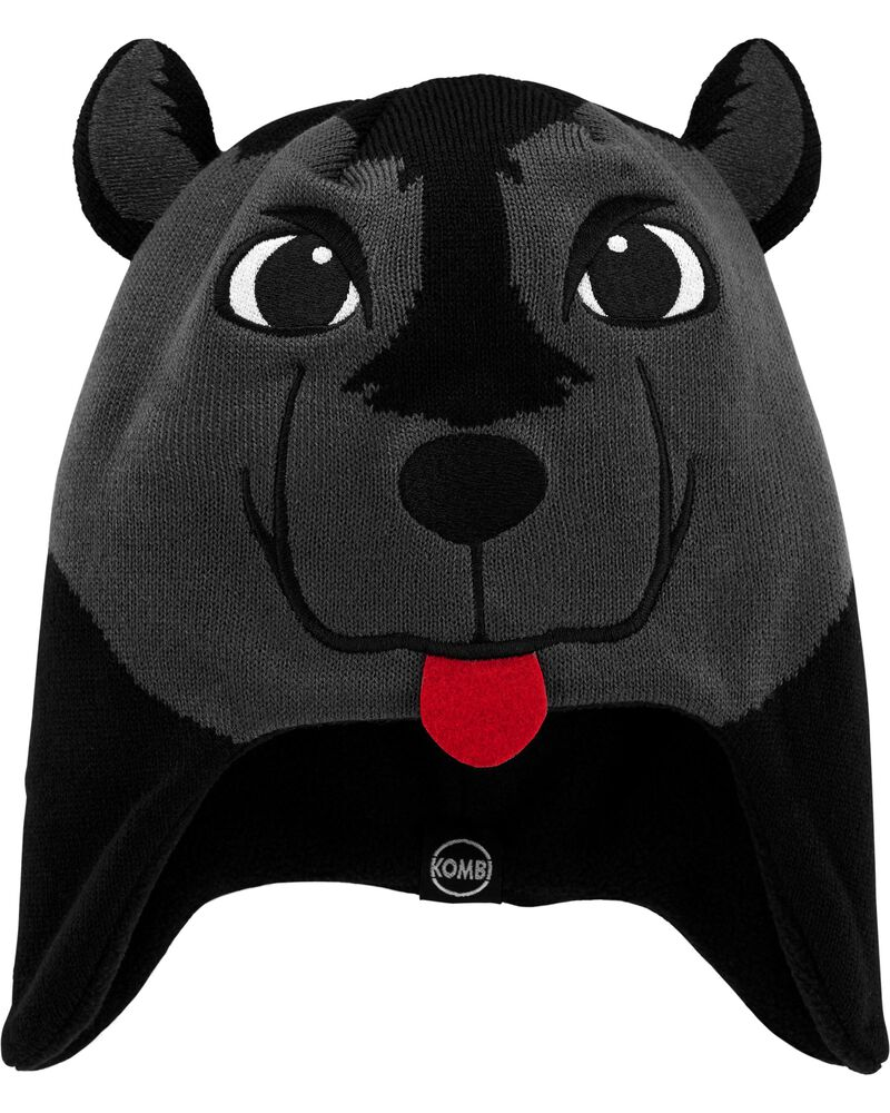 Kombi Fleece-Lined Willy The Wolf Knit Hat, , hi-res